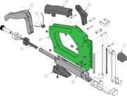 Frame Nailer exploded view